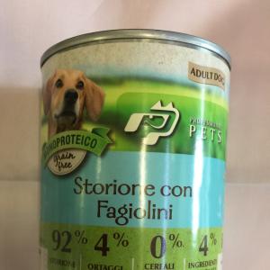 Professional pets storione e fagiolini 400 g