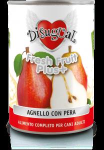 Disugual fresh fruit agnello e pera 400gr