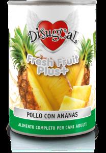 Disugual fresh fruit pollo con ananas