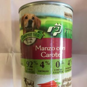 Professional pets manzo e carote 400 g