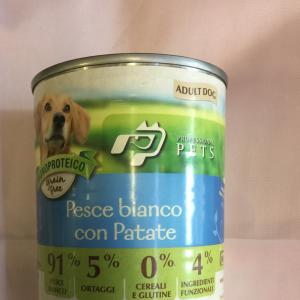 Professional pets pesce bianco patate 400 g