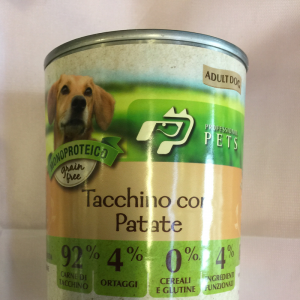 Professional pets tacchino e patate 400 g