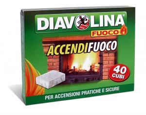 Diavolina Accendifuoco cod. 15300