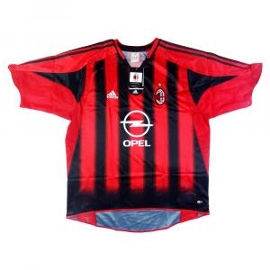 2004-05 AC Milan Maglia Home *Cartellino e Confezione
