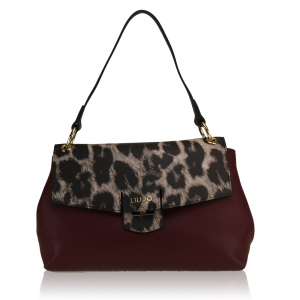 Shoulder bag Liu Jo MARSEILLE A67170 E0040 RUBY WINE