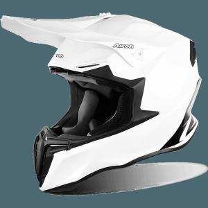 CASCO MOTO CROSS AIROH TWIST COLOR WHITE GLOSS TW14