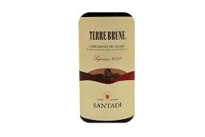 Vino Rosso Terre Brune Carignano del Sulcis DOC Superiore 2014
