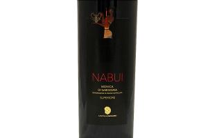 Vino Rosso sardo Monica di Sardegna NABUI DOC Superiore 2011