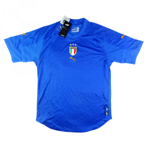 2004-06 Italia Maglia Home *Cartellino