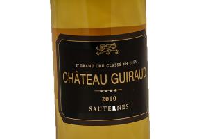 Vino Bianco Sauternes Premier Grand Cru Classé Chateau Guiraud 2010