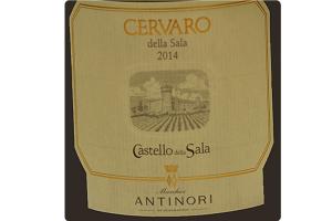 Vino Bianco Cervaro della Sala Umbria IGT 2015