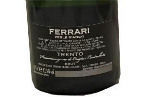Spumante Ferrari Perlè Bianco Brut Trento DOC Millesimato