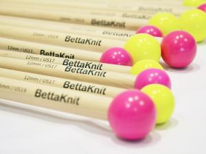 BettaKnit|Ferri Dritti in legno di Faggio