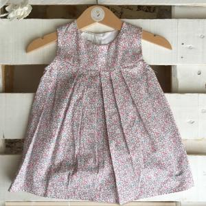 Vestitini in cotone biologico per bambina