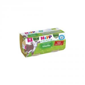 HIPP BIOLOGICO VITELLO - OMOGENIZZATO DAL 4 MESE COMPIUTO