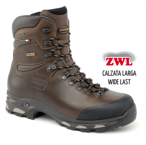 1004 HUNTER  GTX® RR WIDE LAST - Botas de Caza - Waxed chestnut