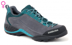 126 SPARROW WNS - Light Blue Women's Alpine approach Shoes  Zamberlan