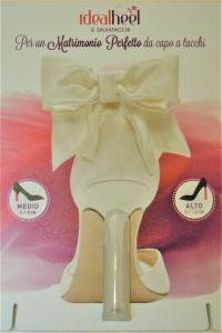 Salvatacco per tacchi da 8 a 10 cm un' idea per preservare i tuoi tacchi, colore trasparente removibile e riutilizzabile tutte le volte che vuoi!