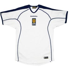 2003-05 Scozia Maglia Away M (Top)