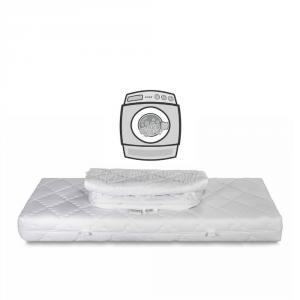 Matelas \u00e0 m\u00e9moire de forme simple 2 Housse amovible et lavable en machine dans 60 |Elite Memory