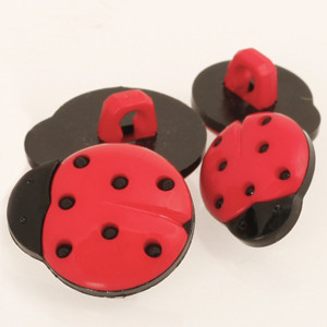 Accessori Drops: BOTTONE COCCINELLA