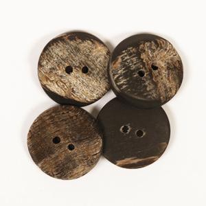 Legno Corno di Bufalo Angolare - bottone