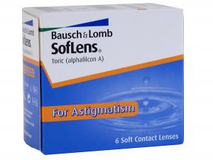 SofLens Toric for Astigmatism (6 lenti)