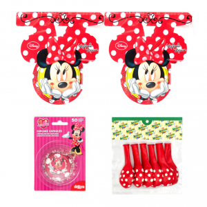 Kit decorazioni Minnie's Cafe