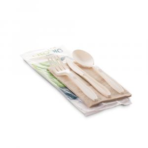 Set tris posate biodegradabili