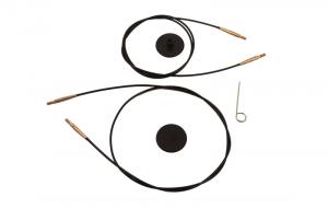 KnitPro | Cavo per componibili (nero/oro)