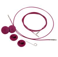 KnitPro | Cavo per ferri componibili (fucsia)
