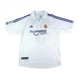2001 Real Madrid Maglia Home L Zidane  #5 (Top)