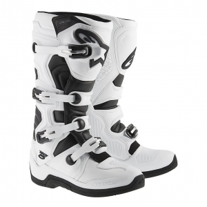 STIVALI MOTO CROSS ALPINESTARS TECH 5 WHITE BLACK