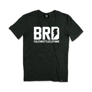 T-shirt Berider Vintage BRD nero