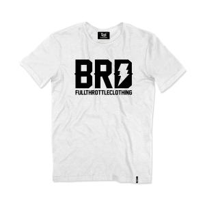 T-shirt Berider Vintage BRD bianco