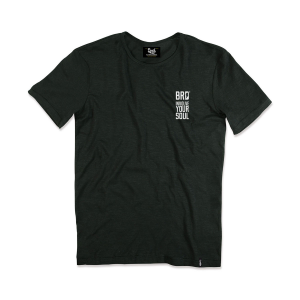 T-shirt Berider Vintage Loud & Fast nero