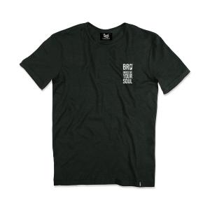 T-shirt Berider Vintage Explore Legend nero