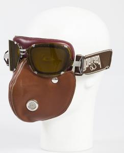 BARUFFALDI SET Supercompetition Helmet Goggles + Super Hector Helmet Mask - Chocolate Brown