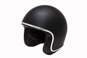 BARUFFALDI ZAR VINTAGE Jet Helmet - Matt Black