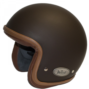 BARUFFALDI ZAR VINTAGE BRONZ Jet Helmet - Matt Bronze