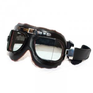 BARUFFALDI VINTACO Helmet Goggles - Black and Orange