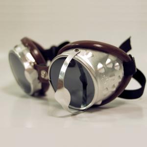 BARUFFALDI 101 SAR Motorcycle Goggles - Chocolate Brown