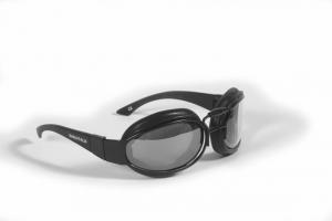 BARUFFALDI WIND SEF Motorcycle Goggles - Black