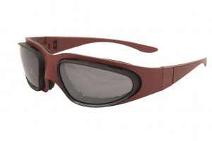 BARUFFALDI WINDTINI Motorcycle Goggles - Pompei Red
