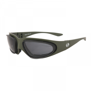 BARUFFALDI WINDTINI Motorcycle Goggles - Military Green