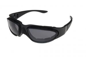 BARUFFALDI WINDTINI Motorcycle Goggles - Black