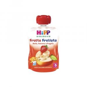 HIPP FRUTTA FRULLATA BIOLOGICA MELA BANANA E FRAGOLA - DAL 6 MESE COMPIUTO