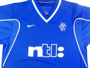 1999-01 Rangers Maglia Home M