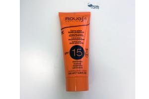 Crema solare protettiva viso corpo SPF 15 protezione media