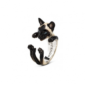 CAT FEVER - Hug Ring Smaltato Siamese